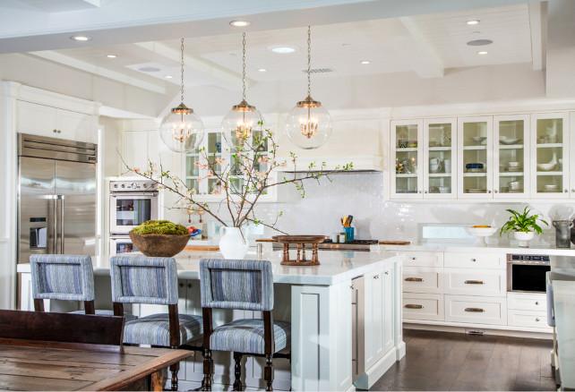 Kitchen color scheme. Kitchen color scheme ideas. White kitchen color scheme. #ColorScheme #Kitchen Legacy Custom Homes, Inc.