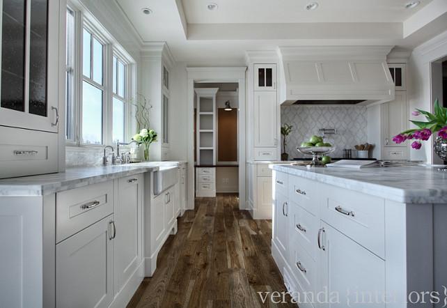 Kitchen hardware. The kitchen hardware is by Hickory Hardware. #KitchenHardware  Veranda Estate Homes & Interiors