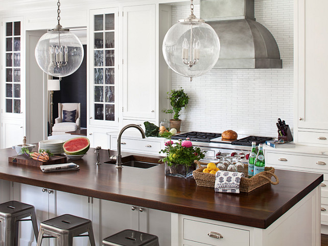 Butchers Kitchen Ideas : Classic Georgian Colonial with Transitional Interiors - Home Bunch Interior Design Ideas