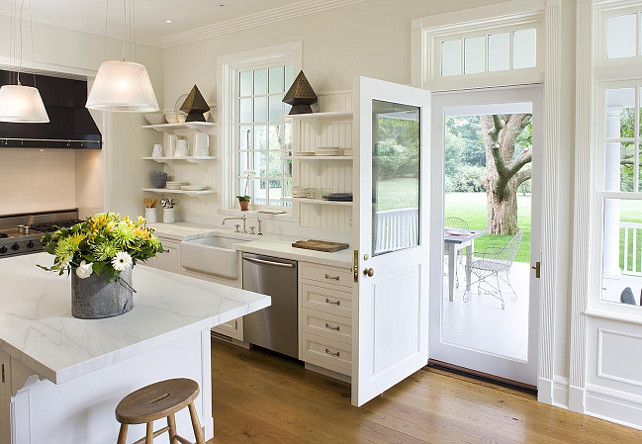 Kitchen. Kitchen opens to backyard. Open Kitchen. #Kitchen #KitchenOpenstoBackyard John Hummel & Associates.