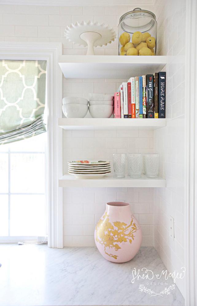 Kitchen. Open Shelves Kitchen. #OpenShelves #Kitchen Studio McGee.