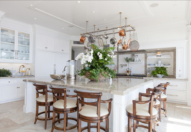 Classic Beach House with Coastal Interiors - Home Bunch ...