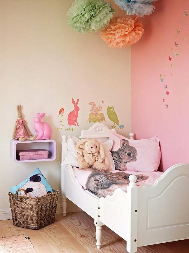 Kids Bedroom Ideas. Adorable Gilrs Bedroom #KidsBedroom