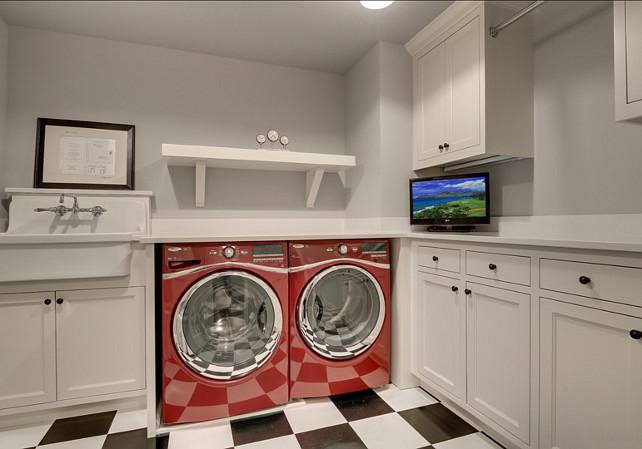 Laundry Room Design Ideas. Beautiful Laundry Room Design. #LaundryRoom #LaundryRoomDesign