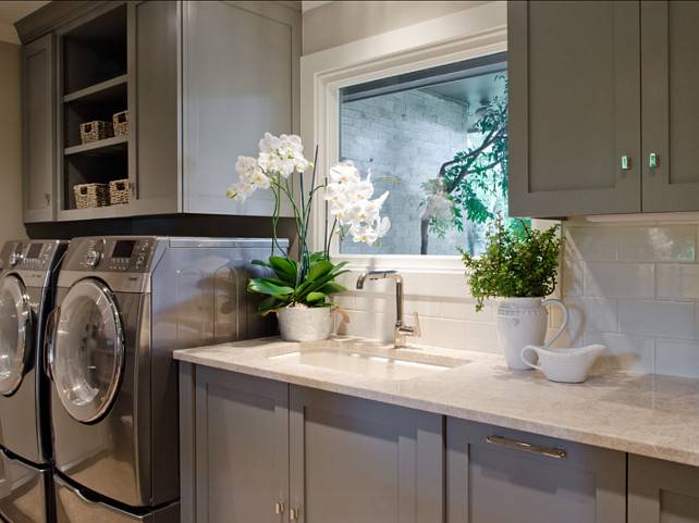 kitchen, kitchen pantry and laundry room design - home bunch Best Laundry Room Designs