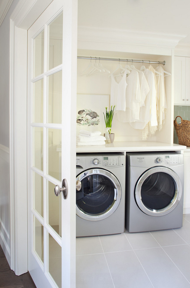 Laundry Room. Second Floor Laundry Room #LaundryRoom Kelly Deck Design