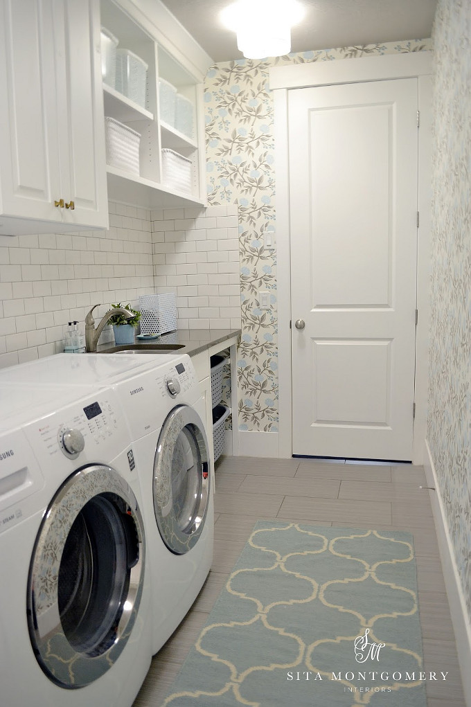 Laundry Room. Sita Montgomery Interiors.
