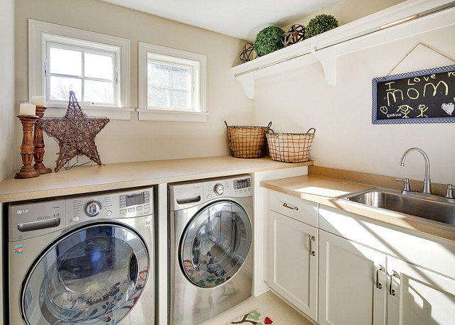 Laundry Room. Small Laundry Room Layout. Laundry Room Layout. #LaundryRoom  Revision LLC.