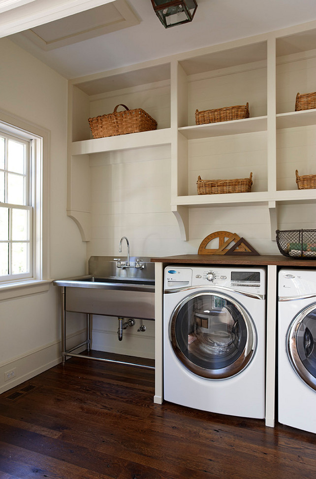 Laundry Room Stainless Steel Sink : Laundry-room-Sink-Ideas.-The-sink-in-this-laundry-room-is-by-Whitehaus ...