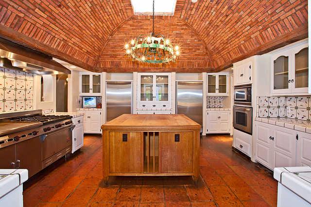 brick, ceiling, kitchen