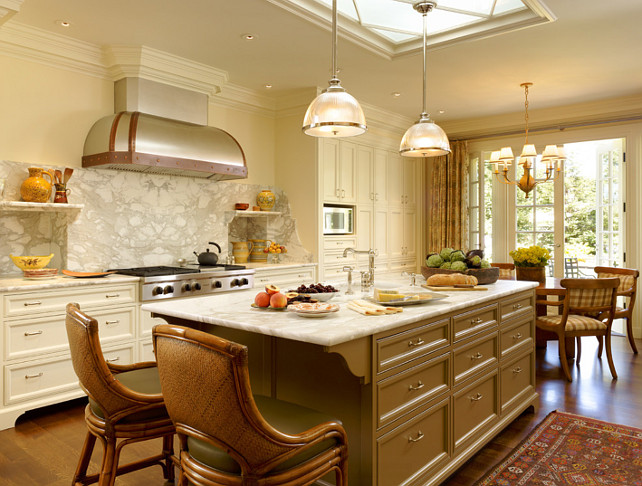 Elegant Kitchen Design. This kitchen feels very original and elegant. #Kitchen #Interiors