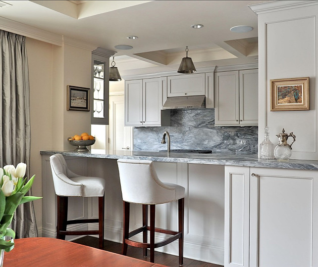 Grey Kitchen Paint: Interior Design Ideas
