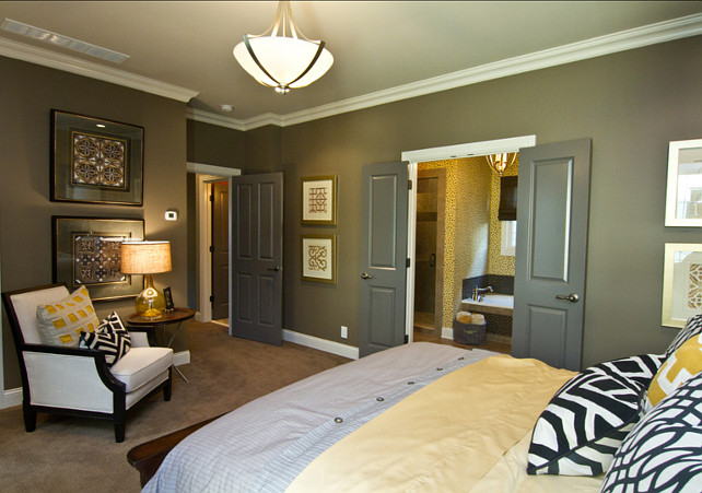 Dark Gray Paint Color. Porter Paint. Color Is Clamshell 516 6. #