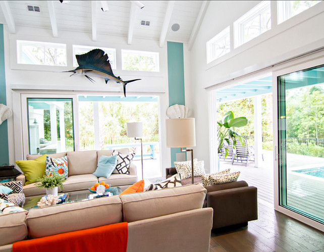 Liivng Room Decor Coastal Living This Couch Is The Park Avenue Sofa