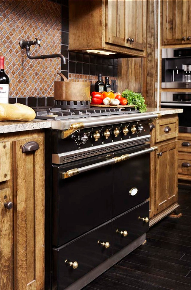 Range. Luxury Kitchen Range. This is a hand-made LaCanche enamel range. #Range #Kitchen #LaCanche