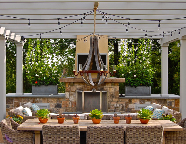 Patio Dining Room. Patio dining room with great patio furniture. #Patio #DiningRoom #Outdoors