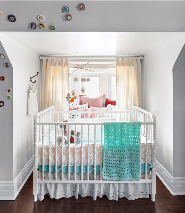 Nursery Design. Girl's Nursery Design Ideas. #Nursery #GirlNursery