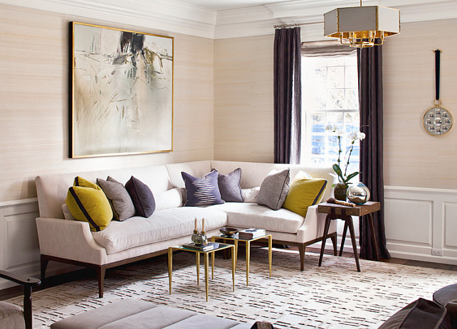 Living Room Color Palette Ideas #LivingRoom #Colorpalette  Alisberg Parker Architects.