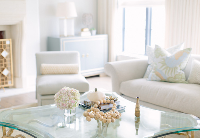 Living Room Decor. Kate Marker Interiors.