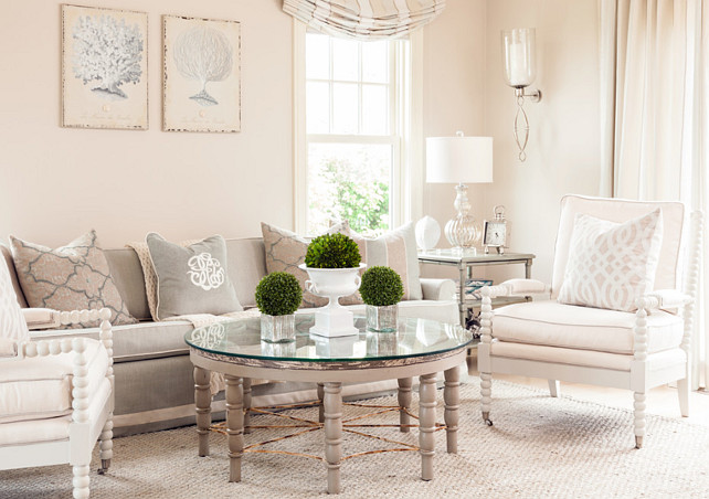 Attractive Living Room Decorating Ideas. This Living Room Has A Very Soft Color  Palette Coming From Part 25