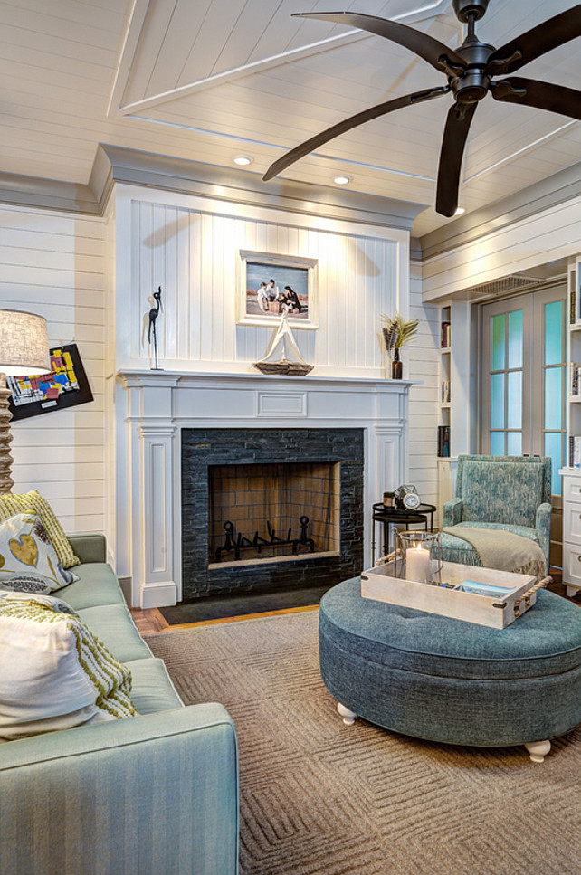 Living Room Fireplace. Living Room Stone Fireplace. Living Room Shiplap. Living Room Mantel Fireplace. #LivingRoom #Fireplace