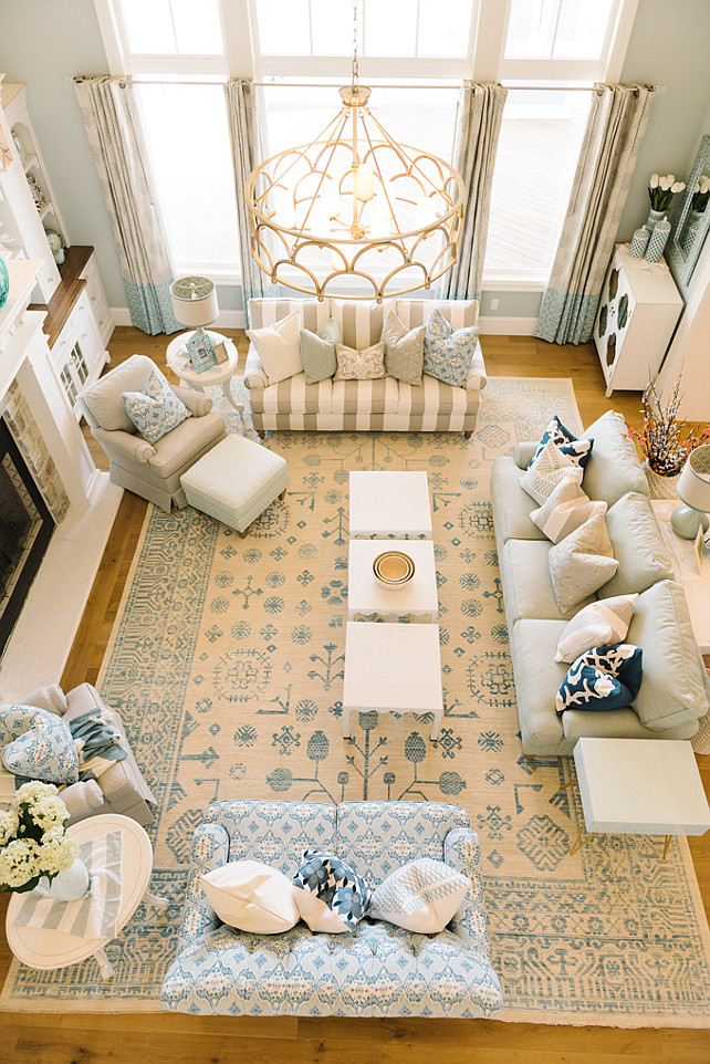 Living room chic living room with neutral decor and for 17 x 14 living room