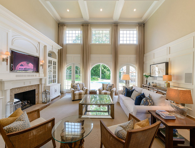 Living Room Ideas. Living Room Decor. Living Room. #LivingRoom  Via Sotheby's Homes.