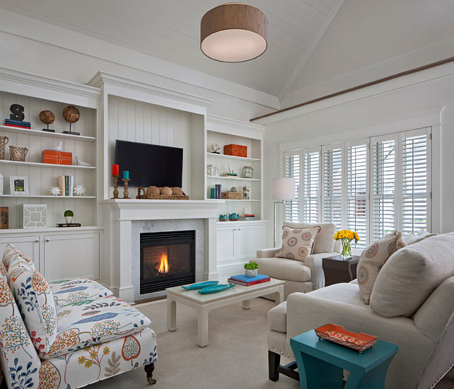 coastal living room design livingroomdesign coastaldecor designed by cottage company - Coastal Interior Design Ideas