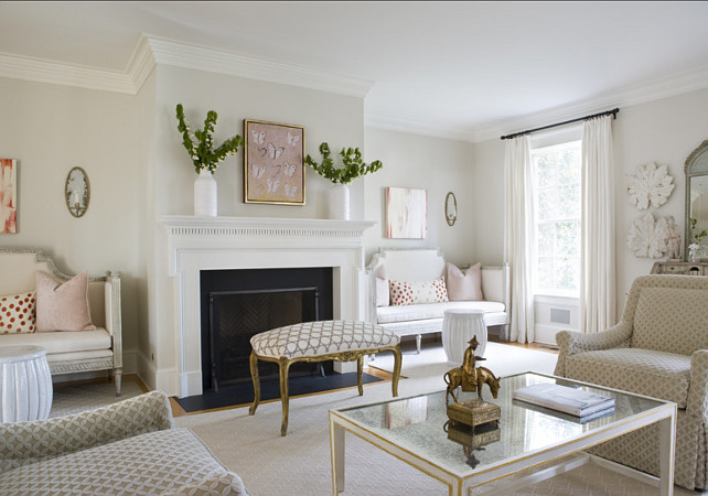 Living Room. Living Room Ideas. Living room decor. Traditional Living Room Design. #LivingRoom  2 Ivy Lane.