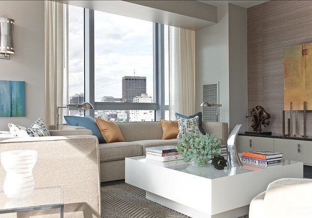 Living Room. Modern Living Room Ideas. Terrat Elms Interior Design.