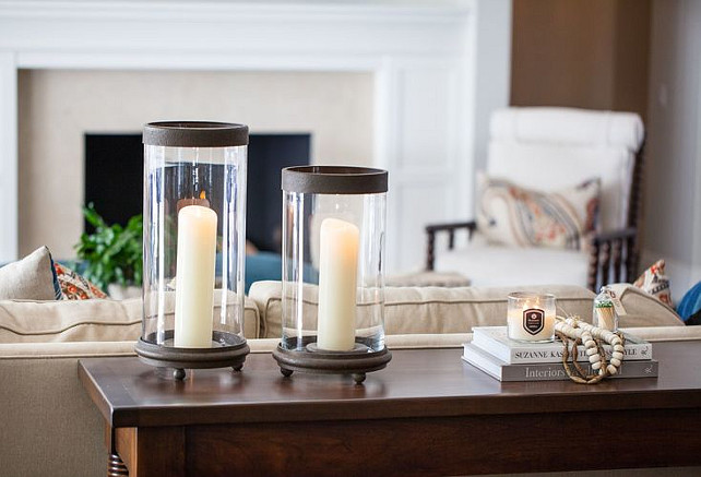 Living room candle. Kelly Nutt Design.
