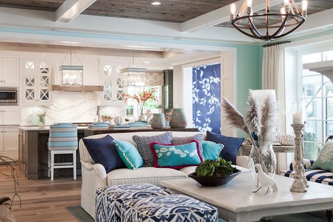 Living room decor. Living room coffee table decor. Open concept Living room decor. #LivingRoom #Decor Great Neighborhood Homes.