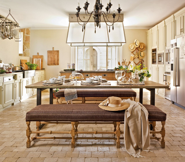 This Is One Of The Best Farmhouse Kitchens