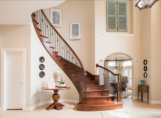 Foyer. Great Foyer Design! #Foyer