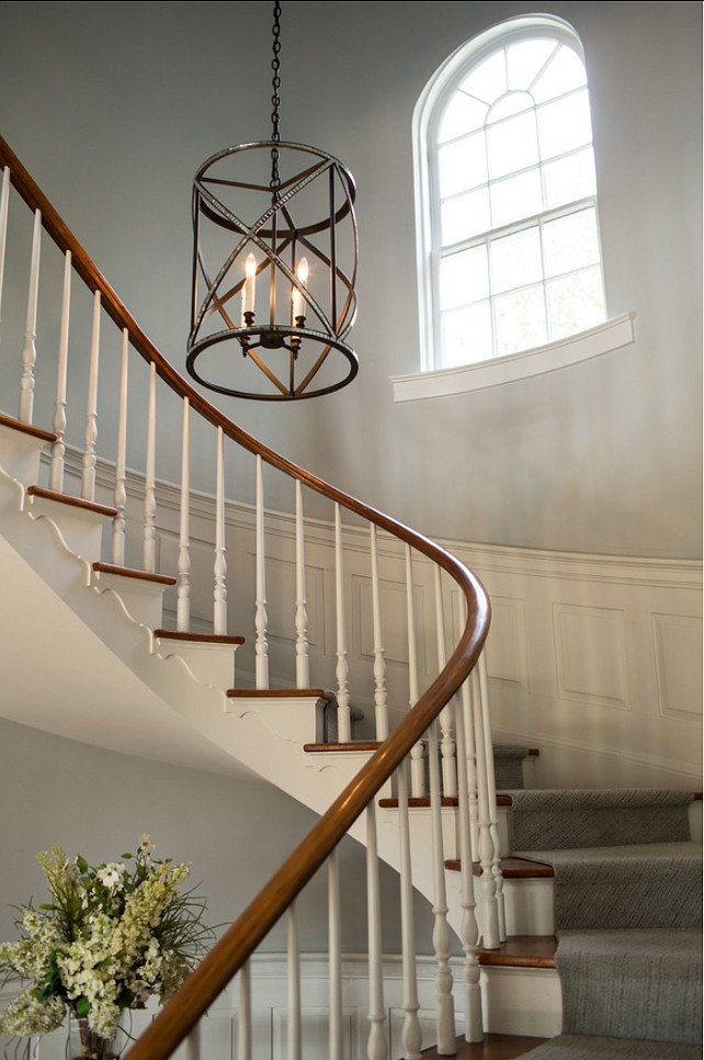 Foyer Lighting. This foyer light fixture is from Micheal Berman Limited. #Foyer #Lighting #Lantern