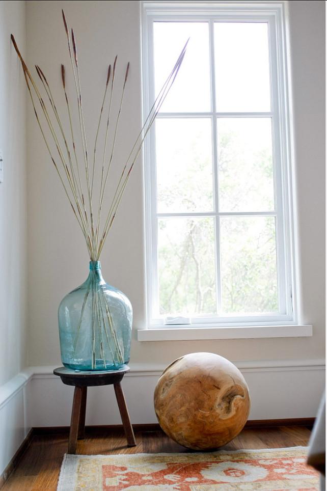 Vignette. A little corner vignette for some height, texture and interest. #Vignette #Interiors #HomeDecor
