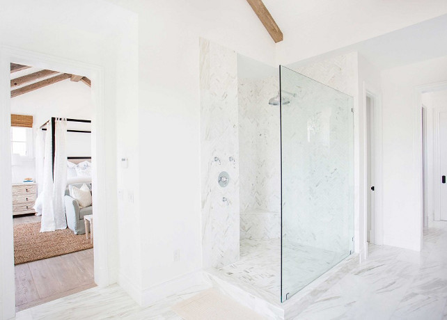 Master Bathroom Shower Design. Blackband Design.