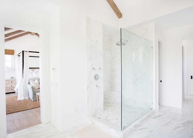 Master Bathroom Shower Design. Blackband Design.