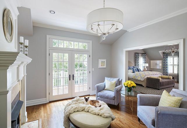 Benjamin Moore Sline 1471 Master Bedroom Sitting Area Separate