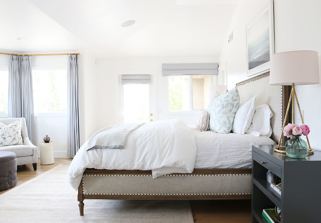 Master Bedroom. Master Bedroom Design. Master Bedroom Ideas. Master Bedroom Furniture and decor. #MasterBedroom Shea McGee Design.