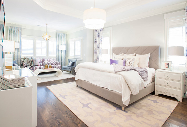 Master Bedroom. Master Bedroom with sitting area #MasterBedroom  Lucy and Company