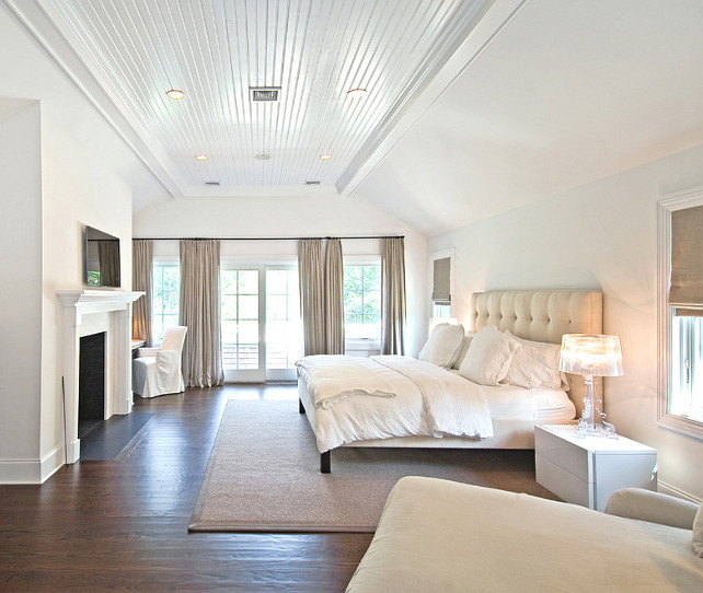 Master Bedroom. White Bedroom. Hamptons Style Interiors. Bedroom. #MasterBedroom #Bedroom EB Designs