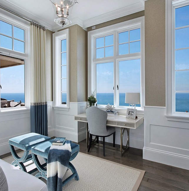 Master Retreat with ocean views. Master bedroom with endless ocean views. #MasterRetreat #MasterBedroom Spinnaker Development.