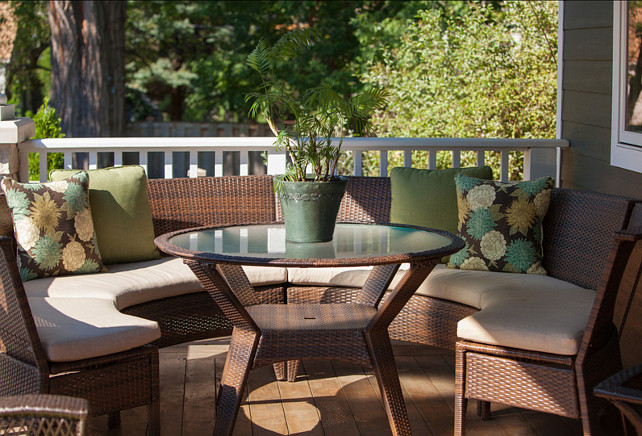 Patio Furniture. Comfy patio furniture is always a must! #patioFurniture