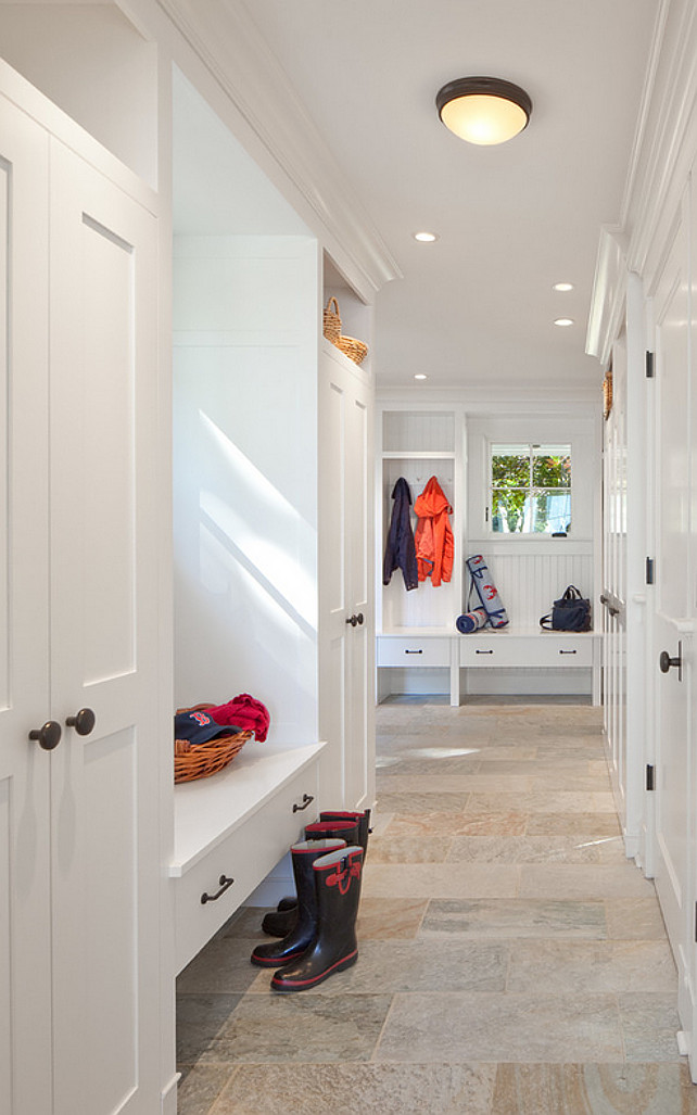 Mud Room. Mud Room Flooring. Mud Room Stone Flooring. Mud Room Flooring Ideas. #MudRoom #Flooring #Stone Jacob Talbot - Fine Homebuilders.