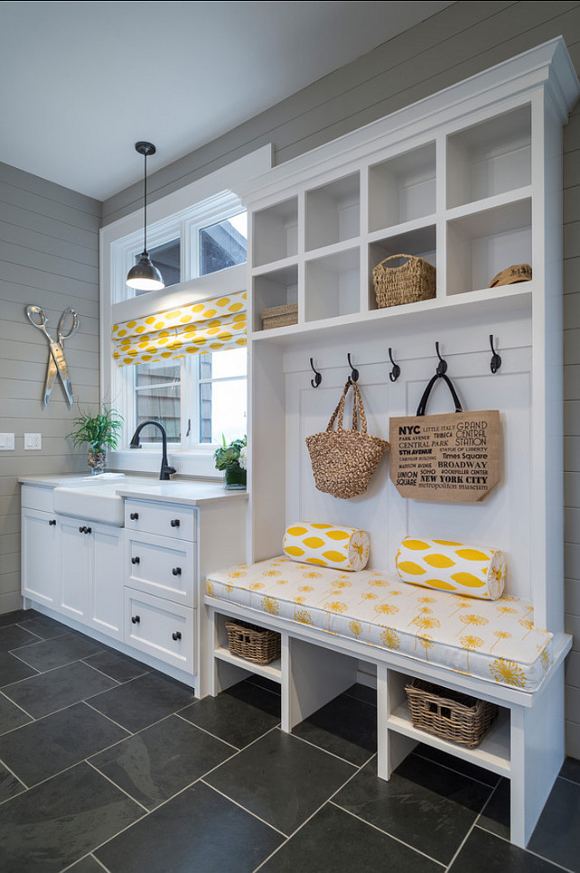Mudroom. Mudroom Ideas. Mudroom Built-in Ideas. Mudroom Design. Mudroom Storage Ideas. #Mudroom