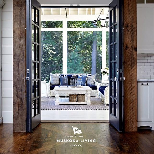 Muskoka room. #muskokalivinginteriors #muskoka #tradewinds #lakerosseau #interiordesign #muskokaliving Muskoka Living Interiors.