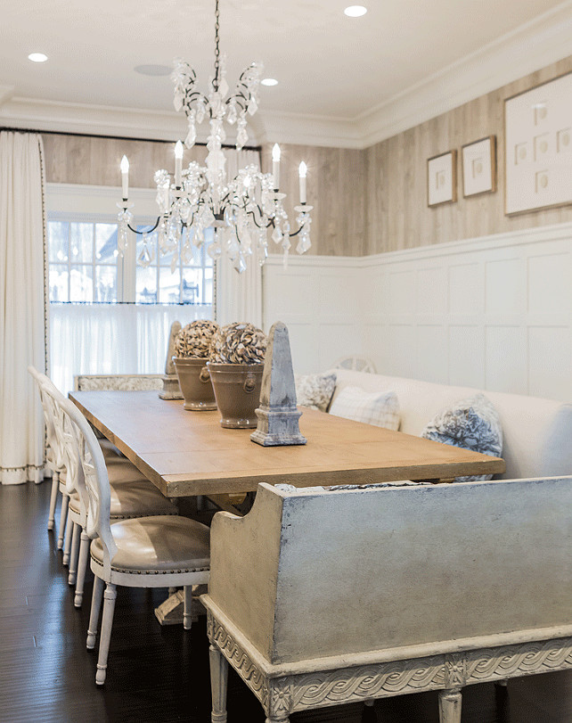 Neutral Dining Room. Neutral Dining Room Color Scheme. Neutral Dining Room Ideas. Neutral Dining Room Color. #NeutralDiningRoom Brookes and Hill Custom Builders.