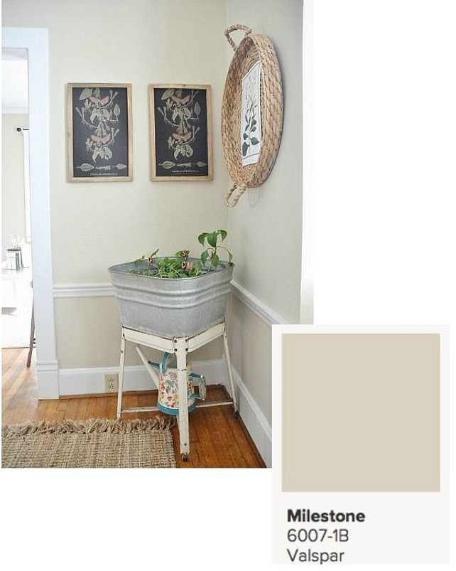 Neutral Paint Color. Valspar Milestone 6007-1B #NeutralPaintColor