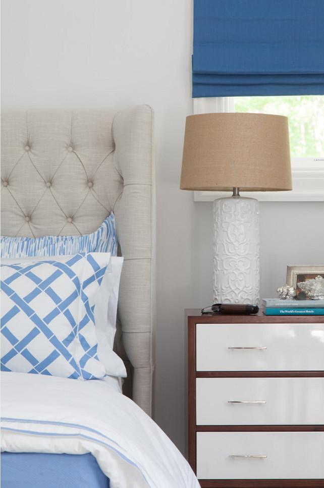 Nightstand Decor. Bedroom Nighstand Decor. Nighstand Decor Ideas. Nighstand Lighting. Nighstand Table Lamp. #NighstandDecor Duneier Design.